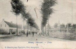 Sinay (Waes)  Dries  Animée Circulé En 1906 - Sint-Niklaas