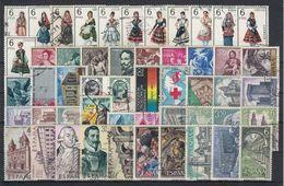 ESPAÑA 1969 Nº 1898/1948 AÑO COMPLETO CON TRAJES USADO 51 SELLOS (REF 02) - Full Years