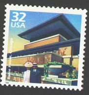 USA 1998 MiNr. 2921 Celebrate The Century  Robie House, Architecture Frank Lloyd Wright 1v MNH ** 0,80 € - Andere