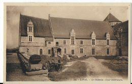 53 - LAVAL - LE CHATEAU - Cour Intérieure    BA - Laval