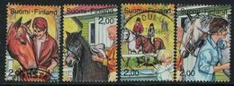 1990 Finland Riding, Complete Set Used. - Finnland