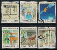 1988 Finland, Postal Services Complete Used Set. - Finnland