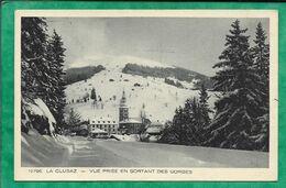La Clusaz (74) 12796 Vue Prise En Sortant Des Gorges 2scans - La Clusaz