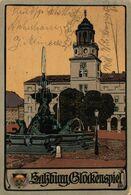 SALZBURG , GLOCKENSPIEL (ILLUSTRATION). ALEMANIA GERMANY DEUTSCHLAND - Zonder Classificatie