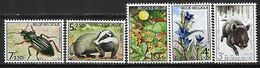 Belgium 1974 Charity Stamps - Flora & Fauna  MNH - Belgique