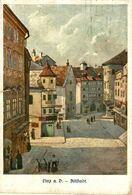 LINZ A.D.- ALTSTADT (ILLUSTRATION). ALEMANIA GERMANY DEUTSCHLAND - Zonder Classificatie
