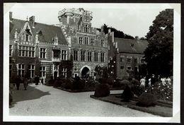 Photo 15 Cm X 10 Cm - 1934 - Château De Gaasbeek - Gaesbeek  - 2 Scans - Lennik