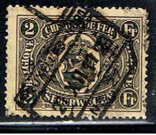 BELGIQUE 1606 // YVERT 128 // 1922-23 - Railway