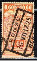 BELGIQUE 1612 // YVERT 142 // 1923-31 - Railway