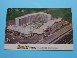 HANALEI Hotel ( AAA ) Anno 1968 ( See/zie/voir Photo ) ! - San Diego
