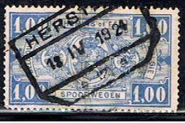 BELGIQUE 1617 // YVERT 146 A // 1923-31 - Railway