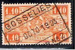 BELGIQUE 1618 // YVERT 147 // 1923-31 - Railway