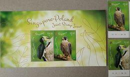 Singapore 2019 Birds Animals Fauna S/s +set MNH - Oiseaux