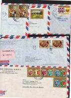 HONDURAS 5 Enveloppe Cover 1972 1973 1974 197(6)? - Honduras