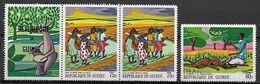 GUINEE    -     1968.  Y&T N° 361 à 362 ** .  Contes Et Légendes. - Guinee (1958-...)