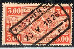 BELGIQUE 1622 // YVERT 154 // 1923-31 - Railway