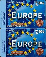 Carte Prépayée - IRADIUM / Europe 7.5 € - France