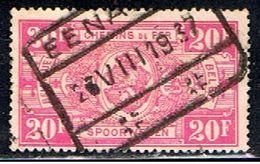 BELGIQUE 1630 // YVERT 163 // 1923-31 - Railway