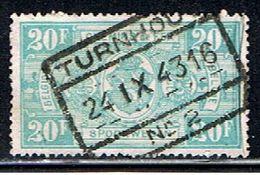 BELGIQUE 1642 // YVERT 256 // 1941 - Railway