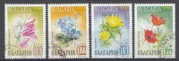 BULGARIE 2000  Mi.nr: 4488-4491 Frühlimgsblumen   Oblitérés - Used - Gebruikt - Usati