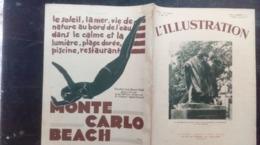 L'ILLUSTRATION 4604 AVIATION / PAUL DOUMER/ MARSEILLE/ BURGOS/ CROISIERE JAUNE/ CROISEURS / 30 Mai 1931 Complet Avec Sa - Kranten