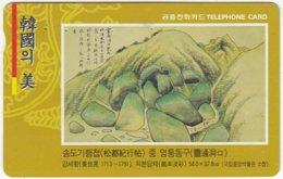 SOUTH KOREA B-522 Magnetic Telecom - Culture, Painting - Used - Corea Del Sud