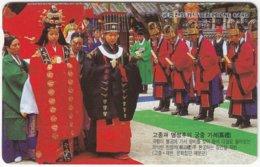 SOUTH KOREA B-529 Magnetic Telecom - Culture, Traditional People - Used - Corea Del Sud