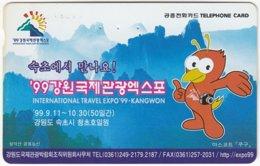 SOUTH KOREA B-531 Magnetic Telecom - Cartoon, Animal, Bird - Used - Corea Del Sud