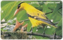 SOUTH KOREA B-547 Magnetic Telecom - Animal, Bird - Used - Corea Del Sud