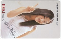 SOUTH KOREA B-559 Magnetic Telecom - People, Woman - Used - Corea Del Sud