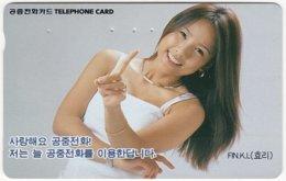 SOUTH KOREA B-564 Magnetic Telecom - People, Woman - Used - Corea Del Sud