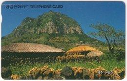 SOUTH KOREA B-566 Magnetic Telecom - Landscape, Rock - Used - Corea Del Sud