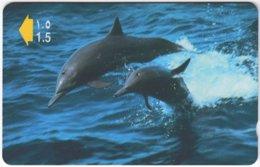 OMAN A-709 Magnetic Telecom - Animal, Sea Life, Dolphin - 50OMNC - Used - Oman