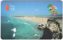 OMAN A-743 Magnetic Telecom - Landscape, Coast - 43OMNW - Used - Oman