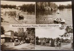 Ak DDR - Naherholungsgebiet Plötzky , Pretzien , Dannigkow - Plattensee - Grüner See - Schoenebeck (Elbe)
