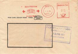 DDR Brief AFS 1964 VEB Carl Zeiss Jena - Cartas