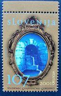 2001 Slovenia Mnh - Eau Agua Water Wasser Environment Fountain Fuente Source Wasserquelle - Yvert 322 - Slovenië