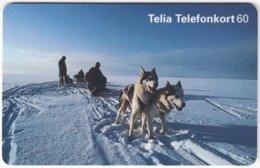 SWEDEN A-859 Chip Telia - Animal, Dog - Used - Schweden