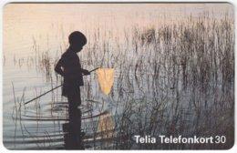 SWEDEN A-866 Chip Telia - Landscape, Lake - Used - Schweden