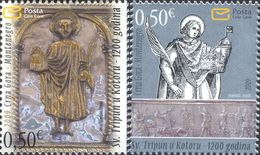 2009 The 1200th Anniversary Of St.Tripun Cathedral In Kotor, Montenegro, MNH - Montenegro