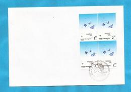 B-SAR-O1  2003   301   BOSNIA ERZEGOVINA  BOSNA SARAJEVO   EUROPA CEPT PLAKATKUNST  ZUM FILM -SNIJEG  FDC - 2003
