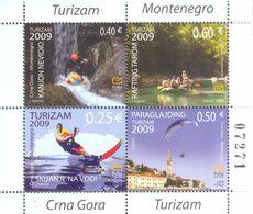 2009 Carnet, Tourism, Montenegro, MNH - Montenegro