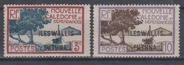 NEW CALEDONIA 1930 OVERPRINT WALLIS & FUTUNA - Wallis And Futuna