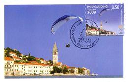 2009 MC, Tourism, Paraglajding, Montenegro, MNH - Montenegro