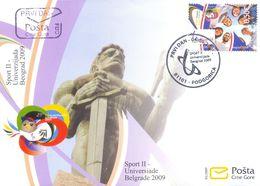 2009, FDC, Belgrade University, Montenegro, MNH - Montenegro