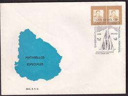 Uruguay - 1989 - Cachets Spéciaux - FDC - Exposicion Filatelica DESCOBREX '89 - A1RR2 - Vela