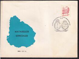 Uruguay - 1986 - Cachets Spéciaux - FDC - Plazoleta Republica Oriental Del Uruguay - A1RR2 - Vela