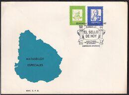 Uruguay - 1991 - FDC - Cachets Spéciaux - Academia De Filatelia Del Uruguay - A1RR2 - Vela