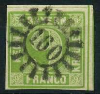 BAYERN MÜHLRADSTEMPEL AUF Nr 5dIII GMR 160 ZENT X87E146 - Bavaria