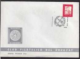 Uruguay - 1987 - Cachets Spéciaux - FDC - Oribe - Heroes Nacionales - A1RR2 - Vela